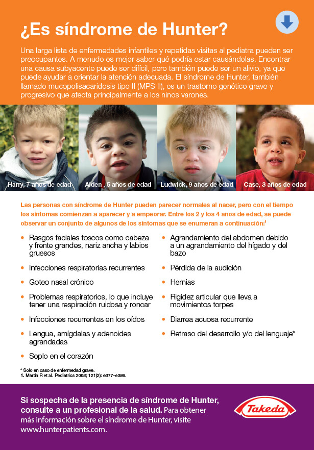 Download a Hunter Syndrome Doctor Discussion Guide